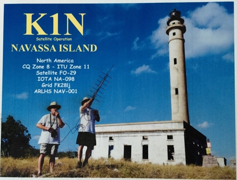 ?The 2015 K1N DXpedition put Navassa on the air on satellites for the first time since 1978.