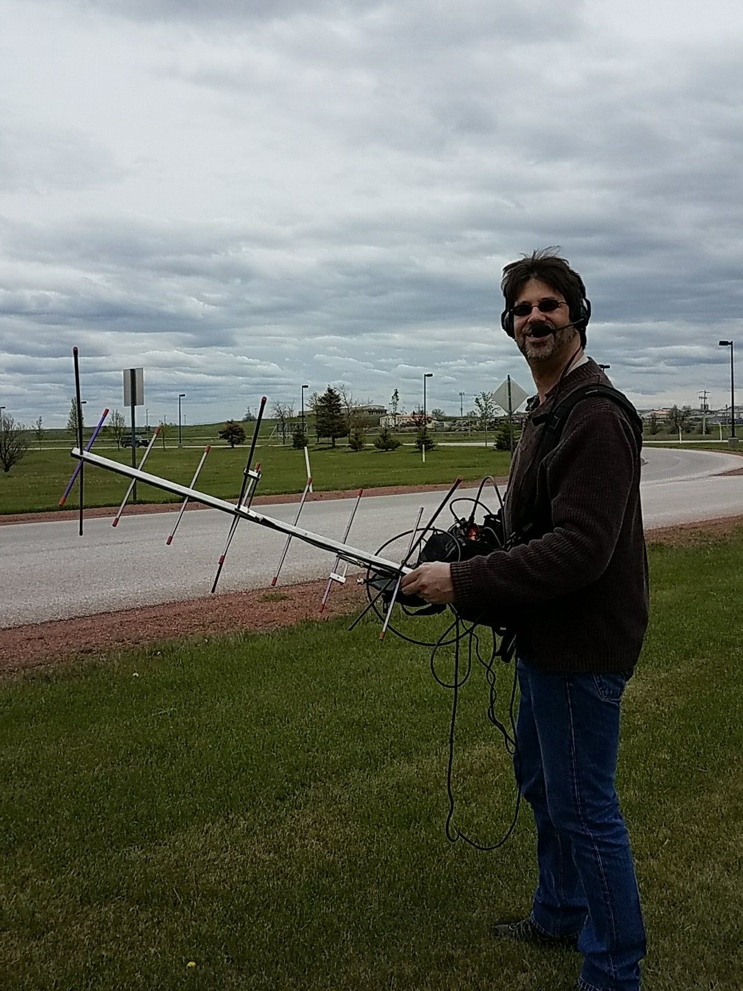 Sean Kutzko, KX9X operating /7 in Wyoming, worked Jose, EB1AO in May 2017. The satellite was just a few degrees above the horizon for both stations, which allowed a 7400km QSO.